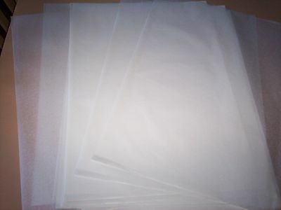 """15- LARGE WAXED CRAFT PAPER SHEETS - 15"""" x 10"""" - DIE CUTTING EMBOSSING SOAP WRAP"""