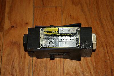 Parker Hydraulic Valve Cpom2dd30 Used German Made