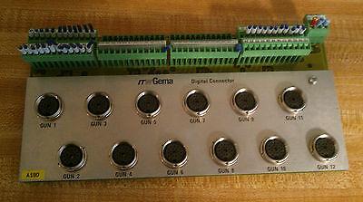 Itw Gema Digital Connector Circuit Board Card A180