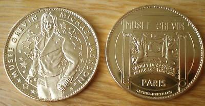 Michael Jackson Museum Grevin Paris France Coin Mickael