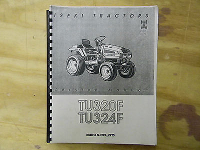 Iseki Tu320 And Tu324 Service Manual