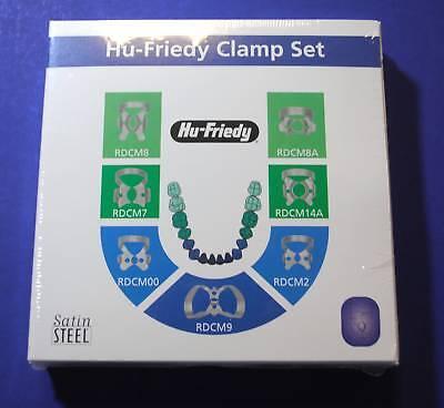 Rubber Dam Clamp Set 7 00 2 7 8 8a 9 14a Hu Friedy