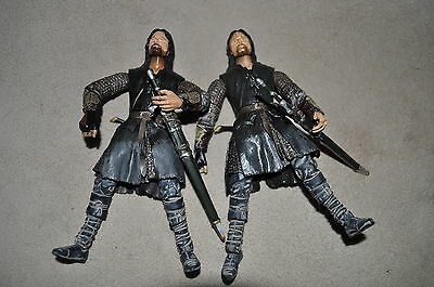 LOTR LORD OF THE RINGS HELMS DEEP ARAGORN LIGHT BEARD VARIANT BATTLE 5 ARMIES 6