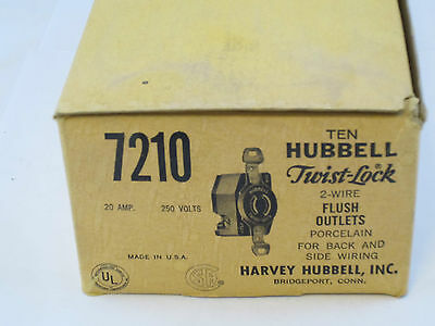 Hubbell Twist-lock 7210 Outlet 20a 250v