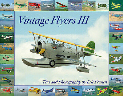 "Eric Erik Presten Preston book ""Vintage Flyers III"" 1015 color pictures new 2011"