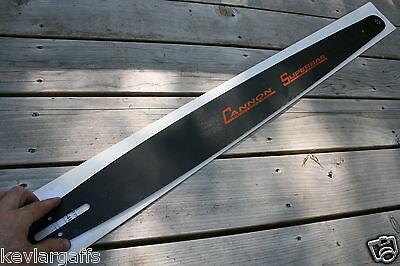 "NEW Cannon ""SUPERBAR"" 50 inch chainsaw bar 404 Pitch .063 Gauge"
