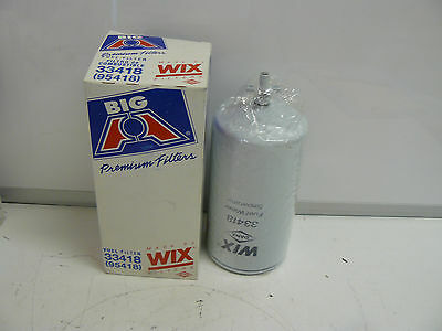 New Wix Big A Filters 33418 Spin-on Fuel And Water Seperator Filter