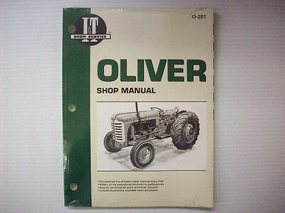 New It Manual Oliver 66 77 88 660 770 880 950 990 More O-201 - Pm