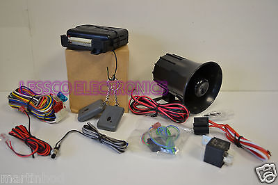 Omega K9 Remote Keyless Entry with Alarm + FREE Door Lock Relay AU-100T *