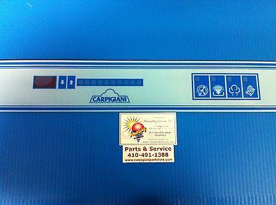 Carpigiani Parts Coldelite Batch Freezer Gelato Icecream Touch Panel Decal Lb502