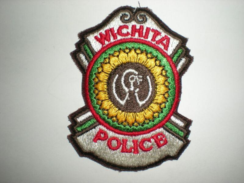 WICHITA, KANSAS POLICE DEPARTMENT PATCH