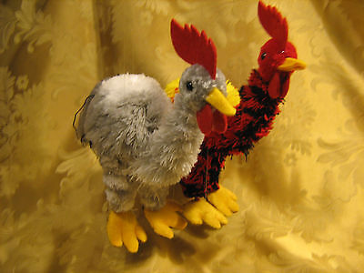 Yarn Rooster Puppet