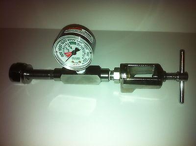 Oxygen Transfill - Transfiller - Adaptor Cga540 Cga870 Veterinarian Aviation