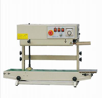 Entrepack Stainless Steel 2100v Vertical Continuous Band Sealer Emboss Printer