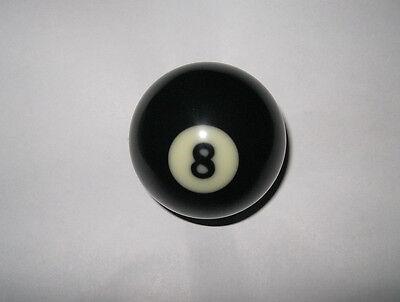 """NEW # 8 Billiard Pool Ball Replacement EIGHT BALL Standard Regular Size 2 1/4 """""""