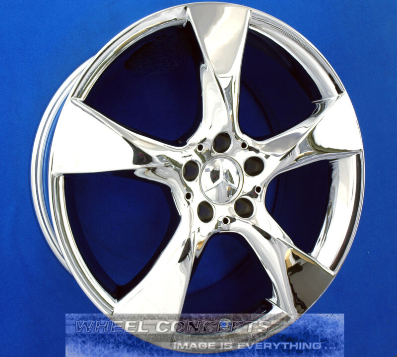 "Mercedes Cls550 218 19 Inch Chrome Wheels Oem 19"" Rims Cls 550 85216 / 85217"