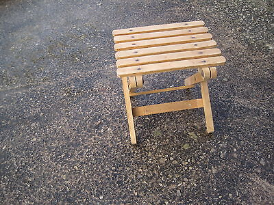 WOODEN CHILDS SEAT