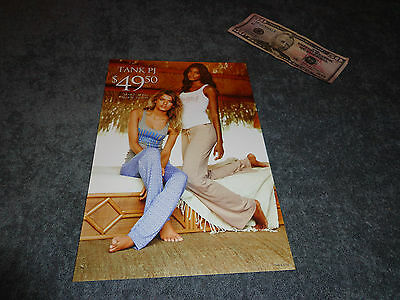 7x10 Poster Victorias Secret Model store display panties sexy window PINK DOG IT