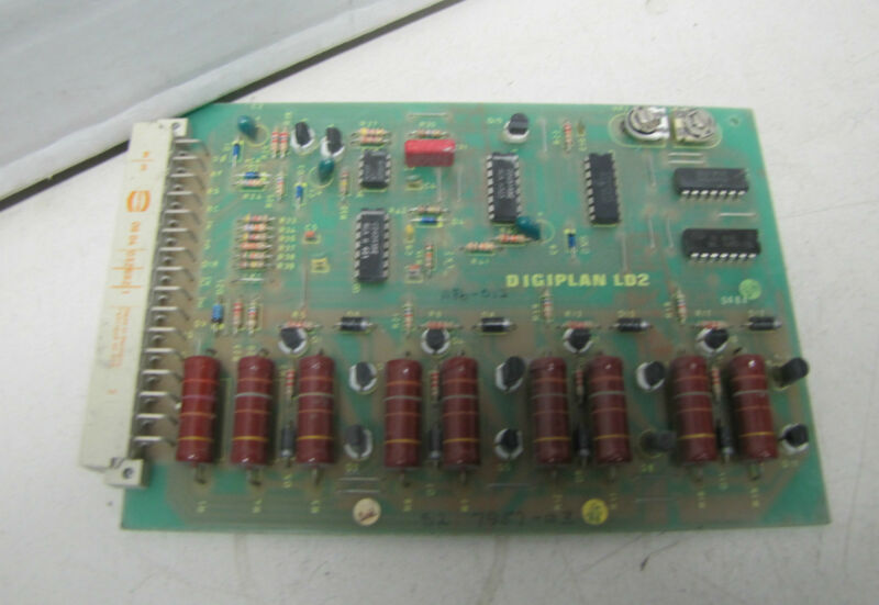 PARKER DIGIPLAN LD2 CIRCUIT BOARD CARD PLC PCB 1186-012 1186012 PKS 1186 003-10