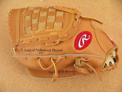 """Derek Jeter Autograph Model Rawlings Leather mitt glove RBG 74 12"""" N.Y. Yankees"""