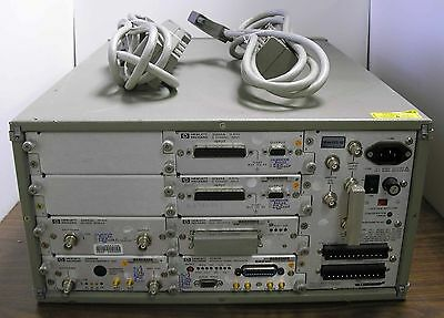Hp 35650 Signal Analyzer Mainframe W 2 X 35655a-35659a-35651b-35653c-35656b