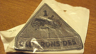 US ARMY USAR 1ST ARMORED DIVISION OLD IRONSIDES OIF OEF SWA DESERT TAN PATCH