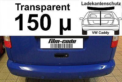 Lackschutzfolie Ladekantenschutz für VW Caddy transparent 150µ