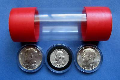 1 Cap-Tube - Tite Airtite Coin Holders Model-T Silver Half Dollar Quarter Rds.