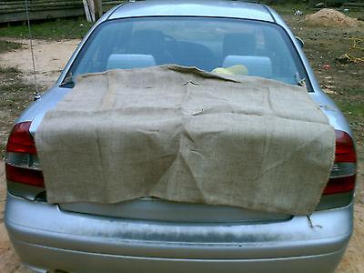 a large burlap sack, heavy duty 36