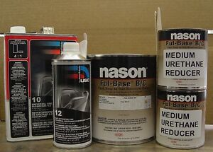 AUTO SHOP PAINT DUPONT/NASON  Ford Oxford WHITE (YZ / Z1) BASECOAT CLEARCOAT
