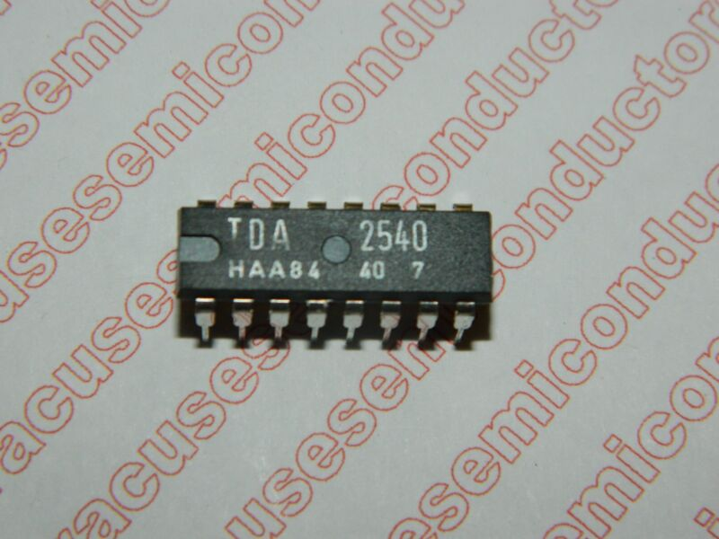 TDA2540 /  IF Amplifier with Demodulator and AFC / Integrated Circuit