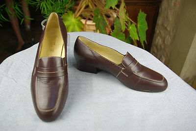 Baby Goat Leather - Shoes DAMART Leather Baby goat Brown T 41 / 41,5 TOP CONDITION