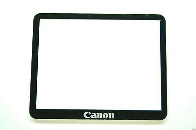 Canon EOS 40D LCD Window outer Glass Screen Display +Tape adhesive