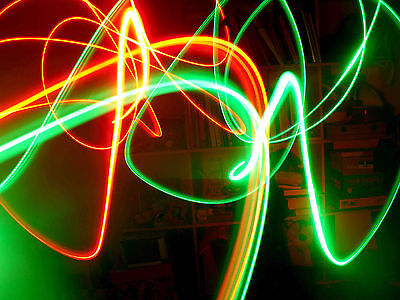5x LED KEYCHAIN COLORS FOR LIGHT PAINTING PHOTOGRAPHY NEON EFFECT