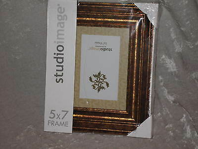 Picture Frame Photo Gold 5x7 Memories Studioimage Family Friends NEW! (Holiday Photo Frames)