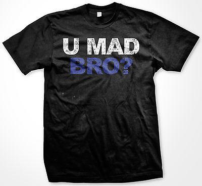 U You Mad Bro? New Jersey Shore Funny TV Show Pop Culture Mens T-Shirt](Funny Jersey Shore)