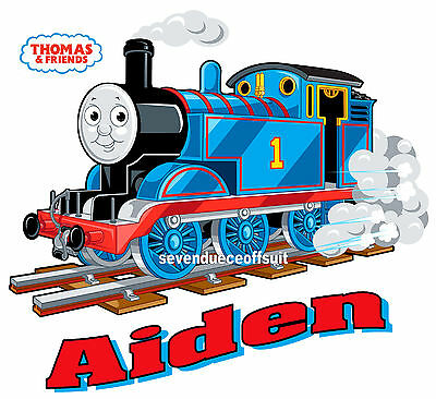 CUSTOM PERSONALIZED THOMAS THE TRAIN T SHIRT PARTY FAVOR BIRTHDAY PRESENT GIFT