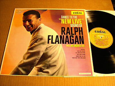 "RALPH FLANAGAN - DANCE TO THE ""NEW LIFE"" SOUND OF - LP - CORAL SLPCM 297018"
