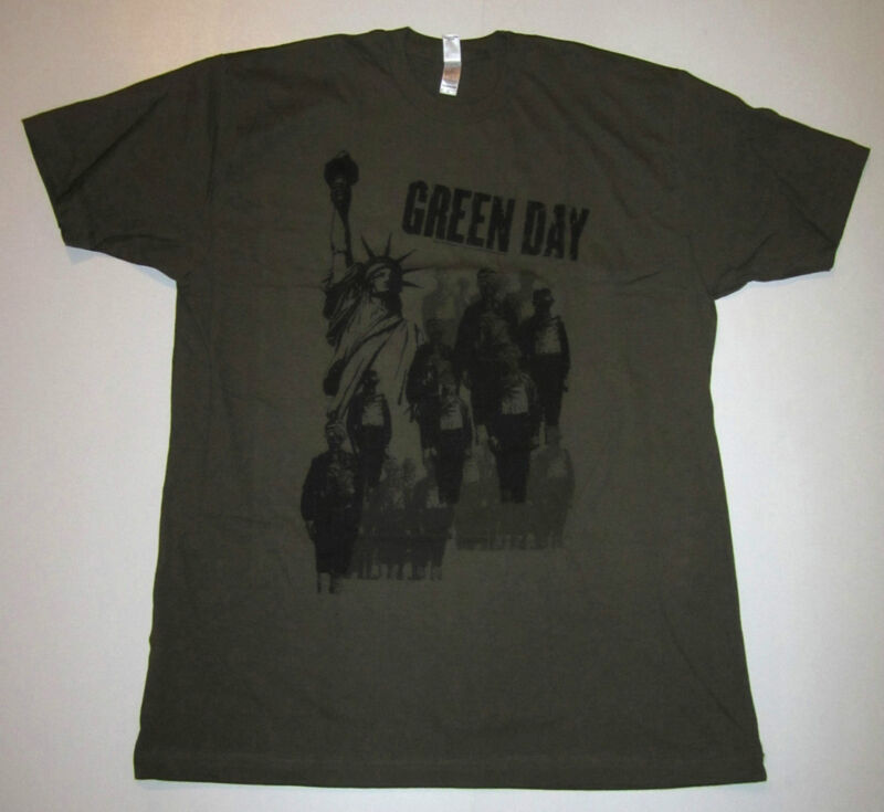 GREEN DAY T-SHIRT, GAS MASKS FROM 2006, SIZE X-LARGE,  PUNK ROCK