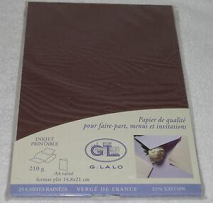 G LALO GL 210g Laid Finish 8 1/4