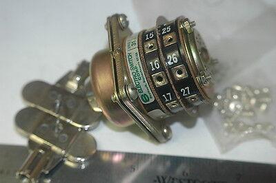 Electroswitch 65302b Key Rotary Sw 2x8 Position Panel Mount Chapman Key Lock