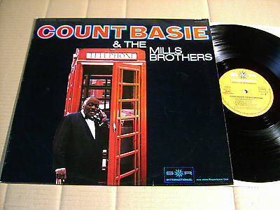COUNT BASIE & THE MILLS BROTHERS - LP - S*R INTERNATIONAL 79 507