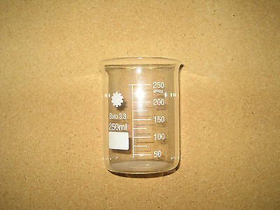 Borosilicate Glass Beakers 250ml