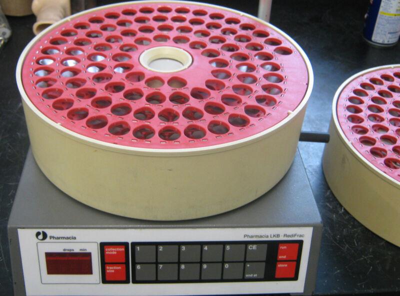 PHARMACIA LKB REDIFRAC-100 FRACTION COLLECTOR