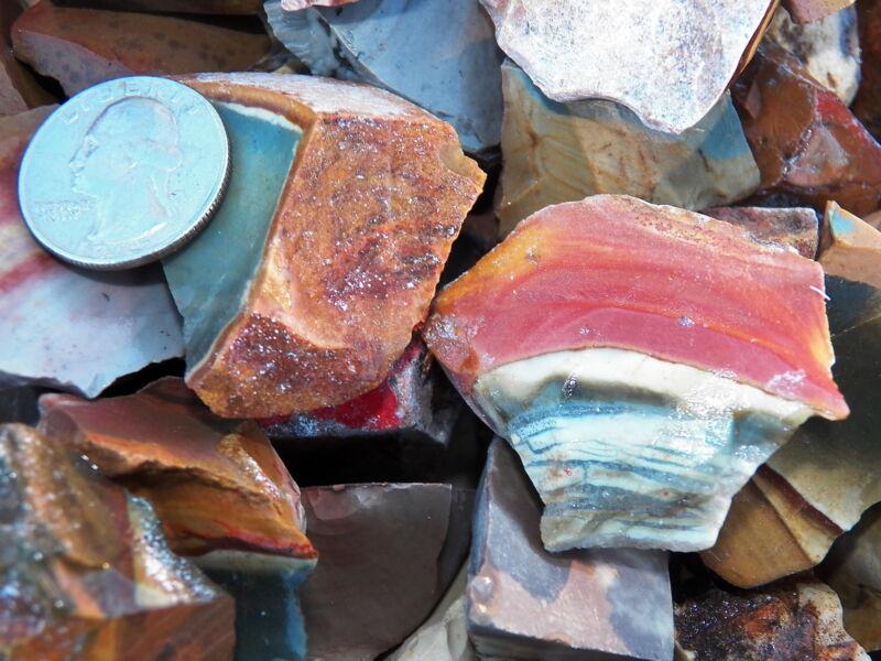 1000 Carat Lots of Desert Jasper Rough - Plus a FREE Faceted Gemstone