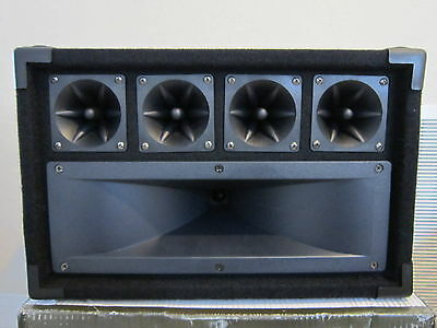 - NEW DJ Tweeter Speaker.4 Piezo Horn Drivers.300w.PA.8.Pro Audio High Sound