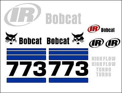773 G New Decal Kit Sticker Set Skid Loader Skid Steer Decals Fits Bobcat