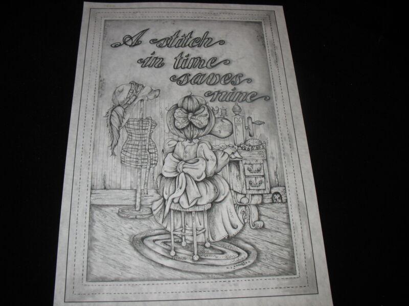 * TRI CHEM 8292 STITCH IN TIME SEWING Liquid embroidery Picture TRICHEM