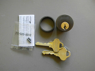 Schlage Everest Mortise Cylinder- Oil Rubbed Bronze- New- 1 18- Adams-rite Cam