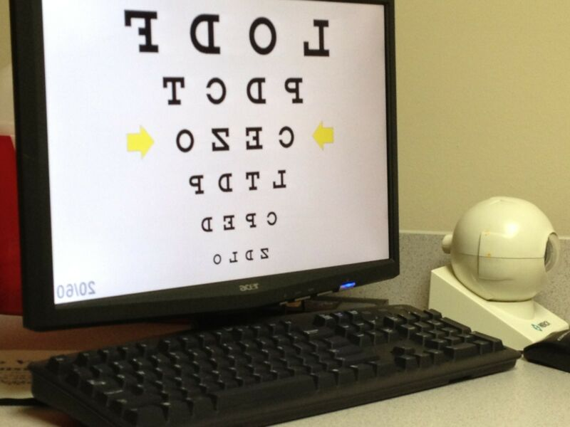 Ophthalmic Optometric Computerized Visual Acuity Software - Excellent Value